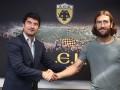 Чигринский подписал новый контракт с АЕКом