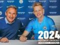 Зинченко продлил контракт с Манчестер Сити