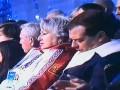 Прикол дня: Медведев заснул во время открытия Олимпиады в Сочи
