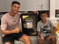 Роналду - о сыне: Скоро он поймет, что сложновато быть лучше меня