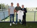 Лунин провел первую тренировку в Реале