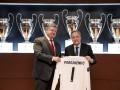 Порошенко посетил Мадрид и поздравил президента Реала с победой в ЛЧ