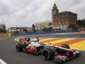 Гран-при Европы: Баттон показал лучшее время на третьей практике