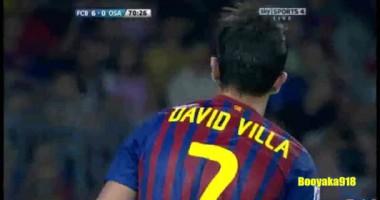 Спортивная история: Давид Вилья празднует свой День рождения