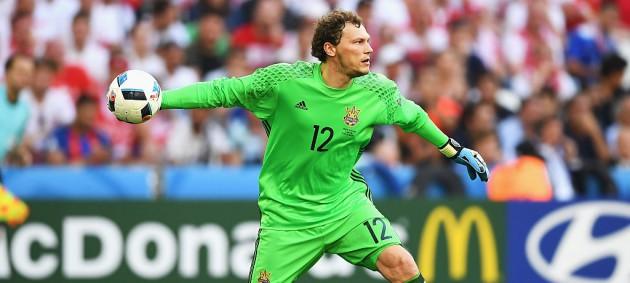 Пятов - в двадцатке лучших игроков Европы