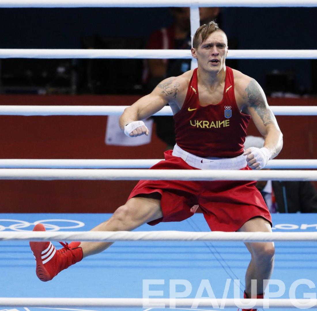 Александр Усик стал чемпионом в Лондоне