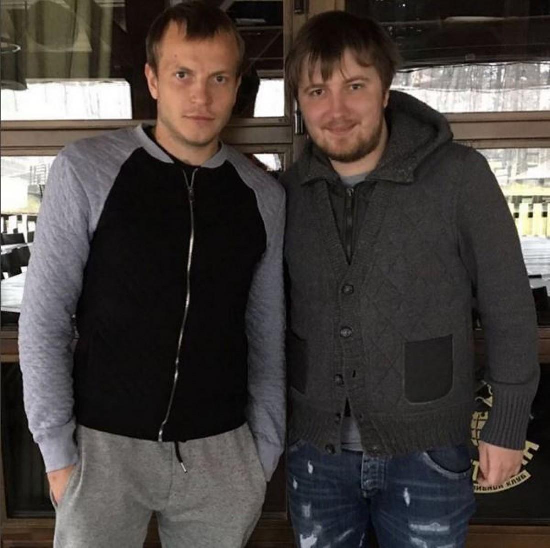 Олег Гусев и Вадим Шаблий