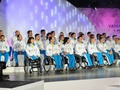 В Паралимпийской деревне подняли украинский флаг