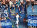Фанаты Зенита едва не сорвали матч чемпионата России