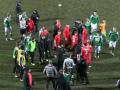 Игроки киевских Оболони и Арсенала устроили драку прямо во время матча
