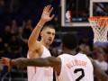 НБА: мощный данк Леня в предсезонном матче против Юты