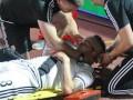 Польскому футболисту камнем разбили голову во время матча Лиги Европы