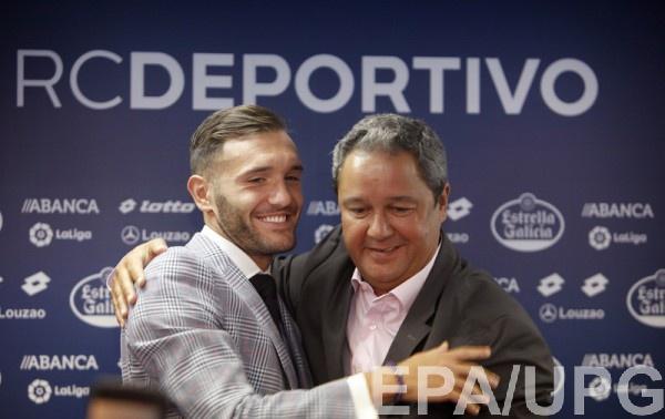 Лукас попрощался с Депортиво