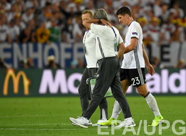 Марио Гомес получил травму