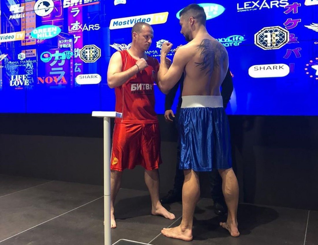 Алиев - Вакулюк: видео боя