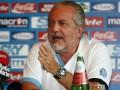 Президент Наполи хочет создать новый еврокубок для команд пяти топ-чемпионатов