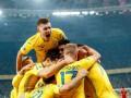 Эксклюзивное видео из раздевалки сборной Украины, снятое сразу после выхода на Евро