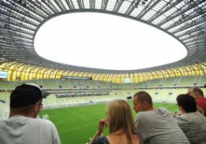 В Гданьске открыли стадион к Евро-2012