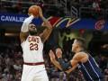 НБА: Кливленд упустил перевес в 21 очко и проиграл Орландо, Атланта обыграла Мемфис