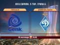 Генк – Динамо Киев - 3:1. Видео голов матча