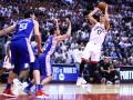 Плей-офф НБА: Торонто разгромил Филадельфию, Портленд крупно уступил Денверу