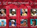 UTF Ladies Invitational: расписание и результаты матчей