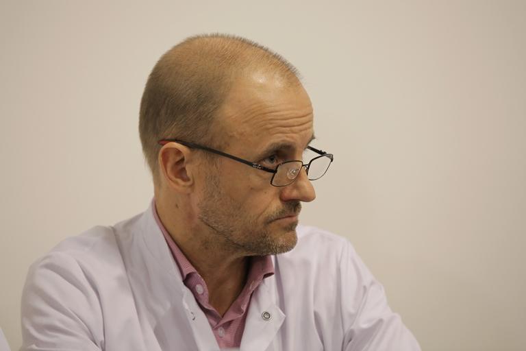 Заведующий отделением реанимации госпиталя Гренобля профессор Жан-Франсуа Пайен