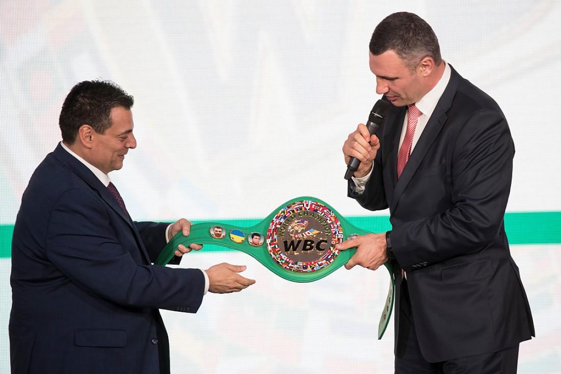 Маурисио Сулейман и Виталий Кличко