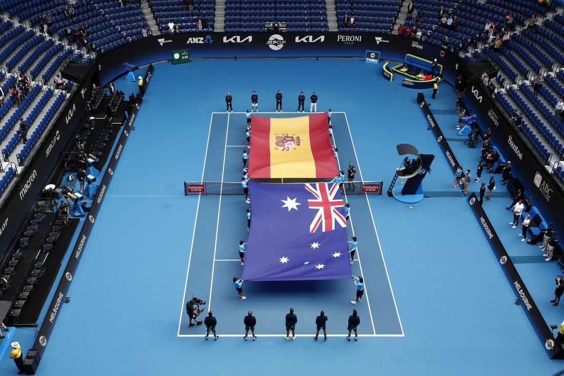 Кубок АТР, Испания - Австралия