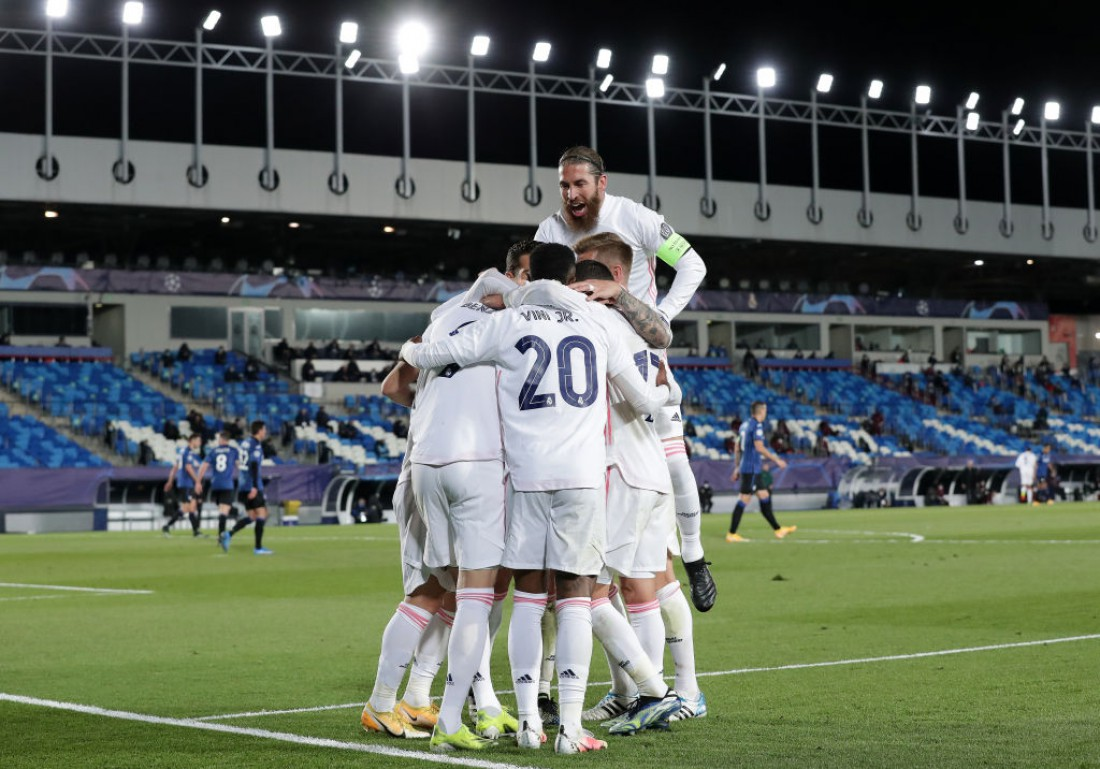 Реал обыграл Аталанту