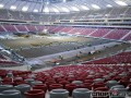 Евро-2012: Газон стадиона в Варшаве уложат уже после торжественного открытия