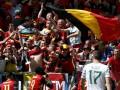 УЕФА наказал Бельгию за хулиганство фанатов