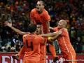 Оранжевое настроение. Голландия выбивает Уругвай