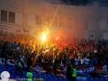Весело и с дракой. Как фанаты в Одессе на матче Лиги Европы зажигали