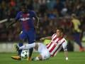 Олимпиакос в домашнем матче не проиграл Барселоне