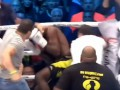 Болельщики избили кикбоксера прямо в ринге после его подлой победы
