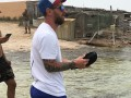 Месси во время отпуска сбежал от фанатов в море