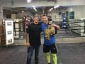 Он заставляет оппонентов сдаться: чемпион UFC потренировался с Ломаченко