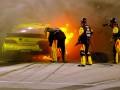 Машина загорелась и взорвалась во время гонки NASCAR (ФОТО, ВИДЕО)