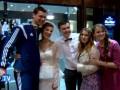 Как Динамо встречали во Львове перед матчем с Шахтером