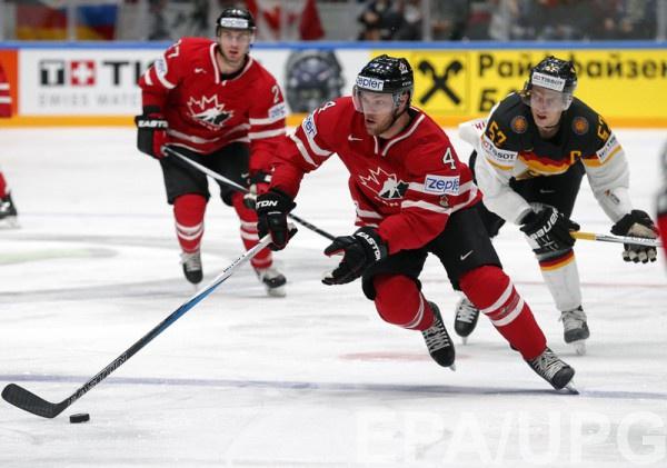 Канадцы победили в поединке с немцами