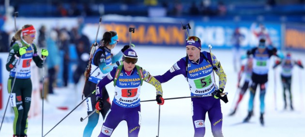 Украина стала десятой в сингл-миксте на чемпионате мира, победила Норвегия