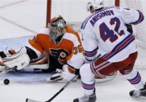 NHL: Филадельфия громит Рейнджеров