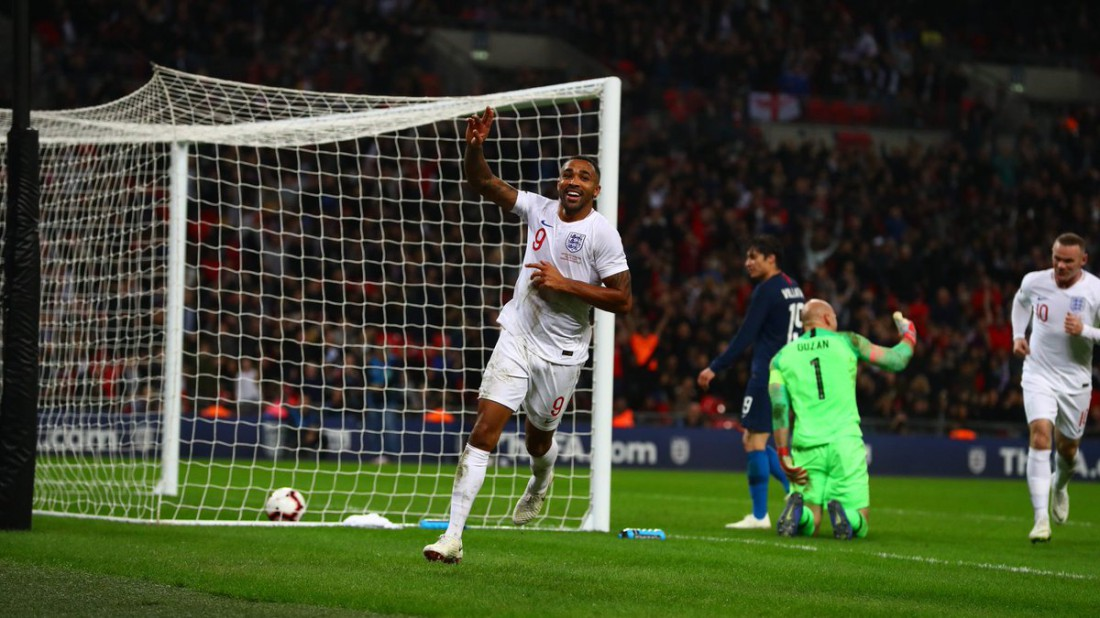 Видео голов матча Англия - США
