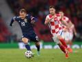 Хорватия одержала уверенную победу над Шотландией и вышла в плей-офф