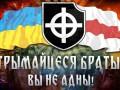 Фанаты Динамо Минск поддержали митингующих украинцев