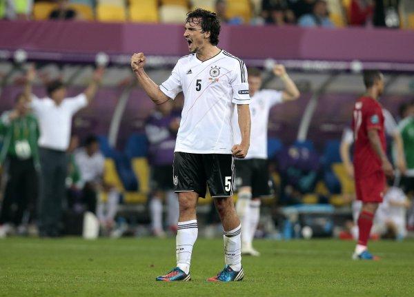 Германия выиграла все матчи Евро-2012