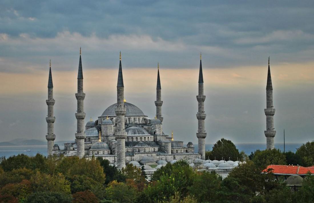 Мечеть Султанахмет, также известна как Голубая