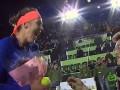 Фанат шокировал российскую теннисистку предложением прямо на корте