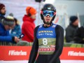 Казахстанский летающий лыжник неудачно затормозил и сделал сальто через отбойник